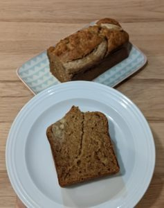 banana bread à la cannelle